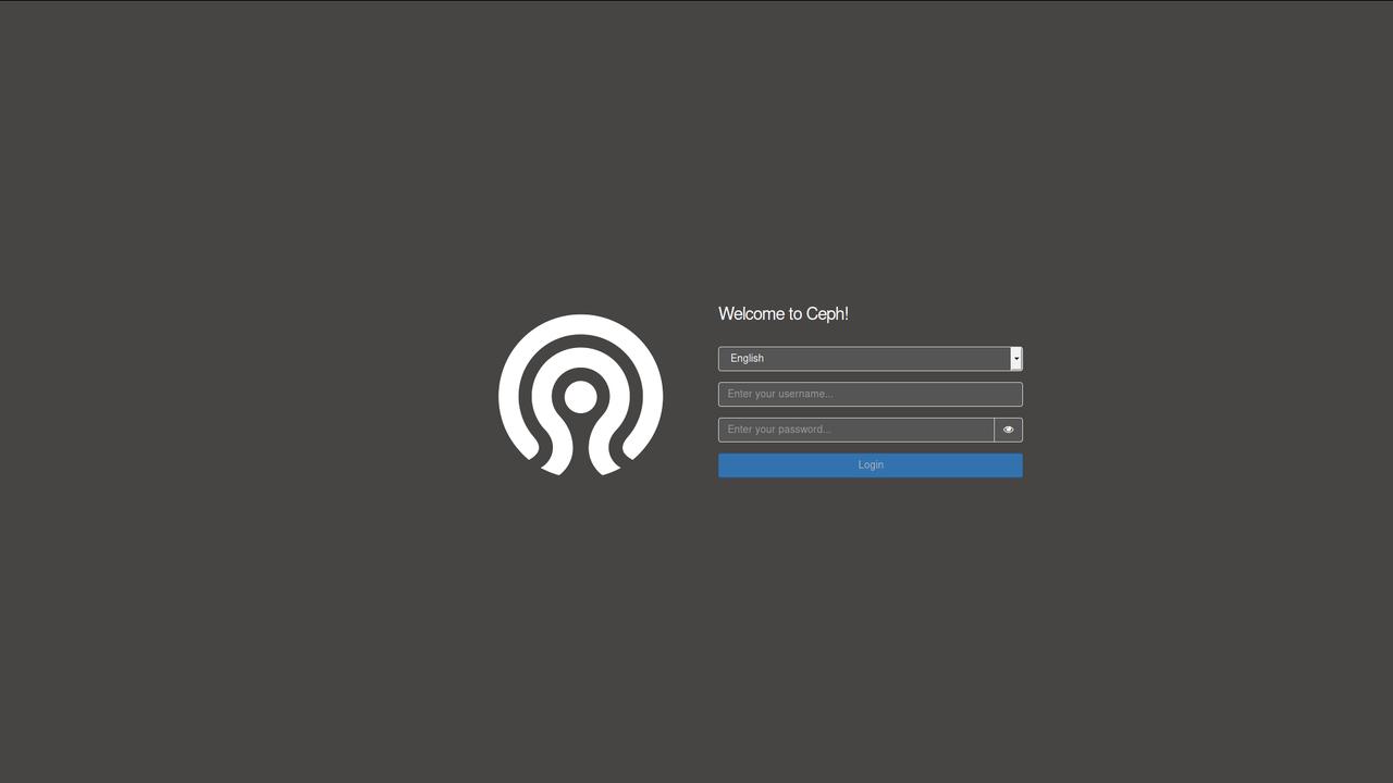 Ceph Manager Dashboard Screenshots as of 2019-01-17   openATTIC